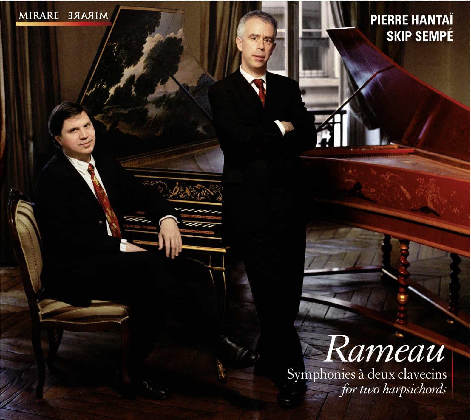 Rameau, Symphonies pour 2 clavecins